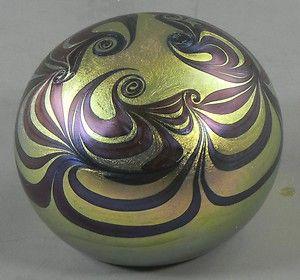 Zephyr Studio Art Glass Paperweight Iridescent 1979  http://www.ebay.com/itm/Zephyr-Studio-Art-Glass-Paperweight-Iridescent-1979-/330702686669?pt=LH_DefaultDomain_0=item4cff6a89cd#ht_3360wt_754