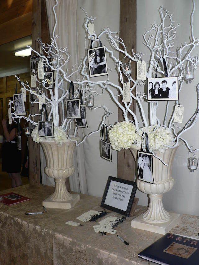 ideas para decoración de bodas de plata