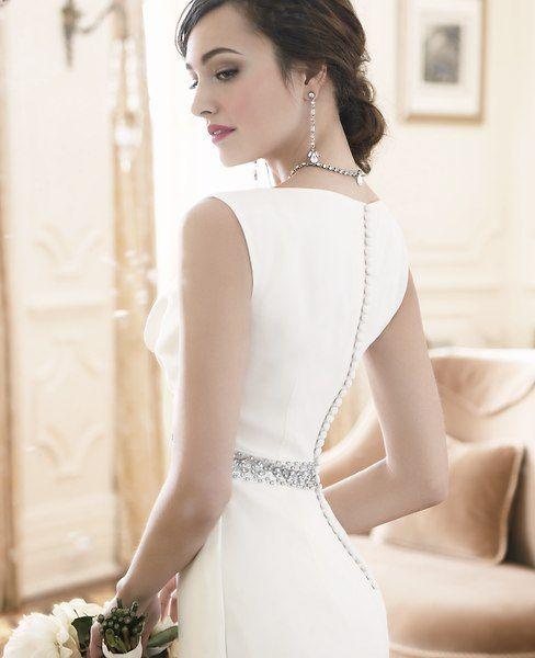 f5db1af7ac Ann Taylor - AT Dresses - Bejeweled Cowl Neck Wedding Dress