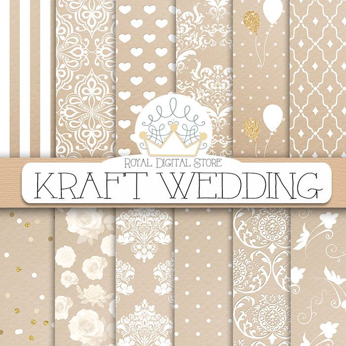 kraft digital paper kraft wedding with kraft scrapbook paper wedding background