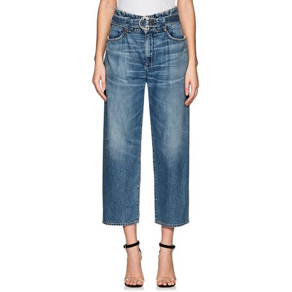 Womens Belted Crop Jeans Jean Atelier 8OY6un