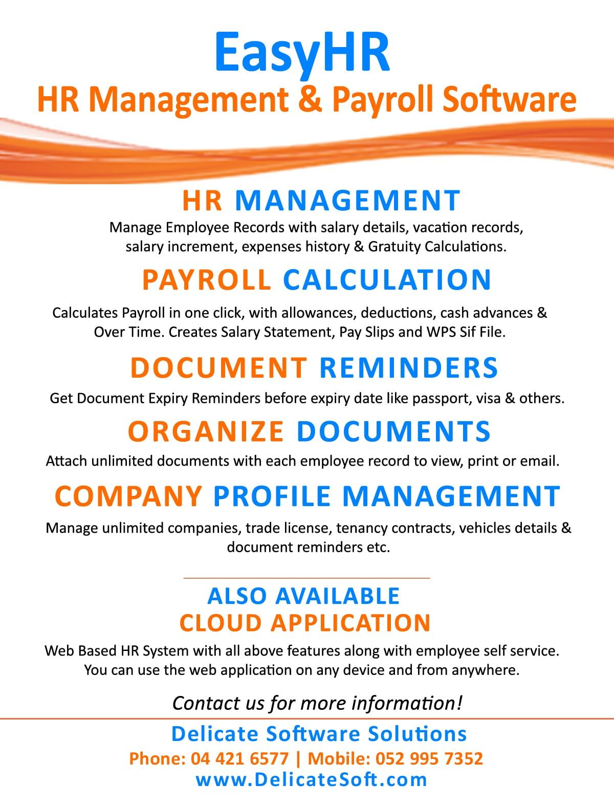 Pin On Hr Management Software For Uae
