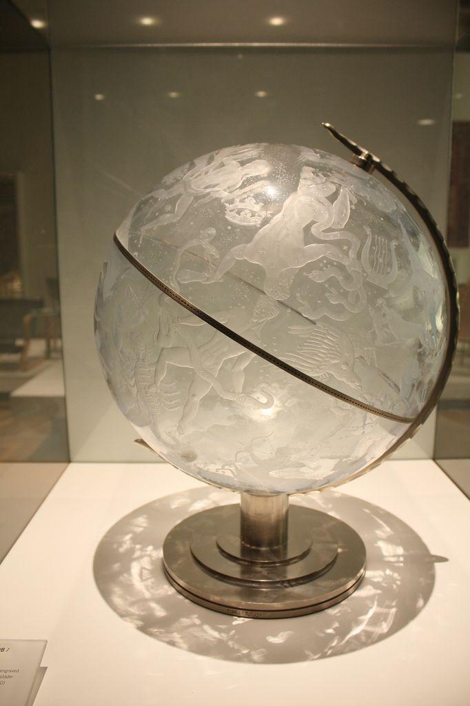 Sky Globe by Edward Hald, 1883-1980, National Museum, Stockholm | Flickr