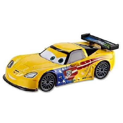 Jeff Gorvette Cars 2 Die Cast Car Disney Sold Out Car Diecast Cars 2 Movie
