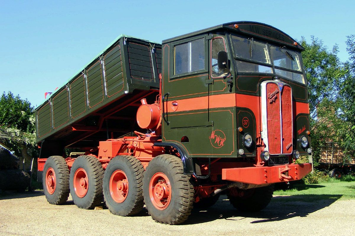 1969 Aec Mandator Tg4r Tractor Unit On Car And Classic Uk C412146
