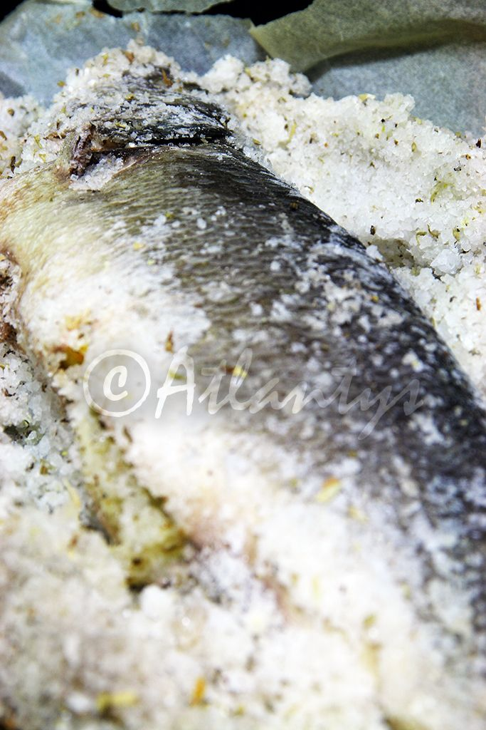 Terapia do Tacho: Robalo ao sal (Sea bass in salt crust)