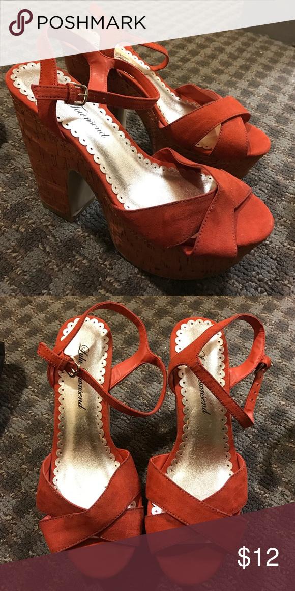 Salmon colored pumps Salmon colored pumps Lulu Townsend Shoes Heels