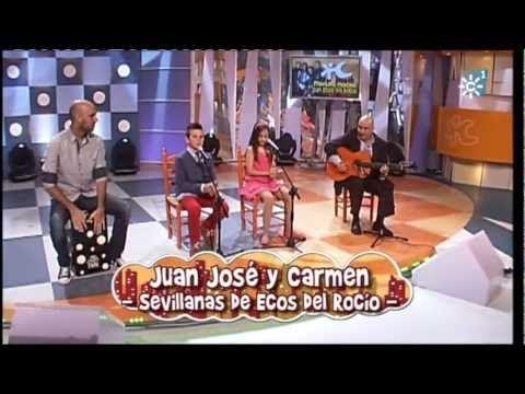 Carmen Navarro Y Juan José Sevillanas De Ecos Del Rocío Http Www Feriadeabrilsevilla Com Carmen Navarro Y Juan J Feria De Abril Sevilla Sevillana Pepitos