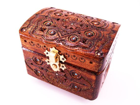 Wooden craft boxes decorative storage wooden chest box woodbox