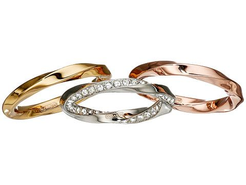 COACH Twisted Stacking Rings
