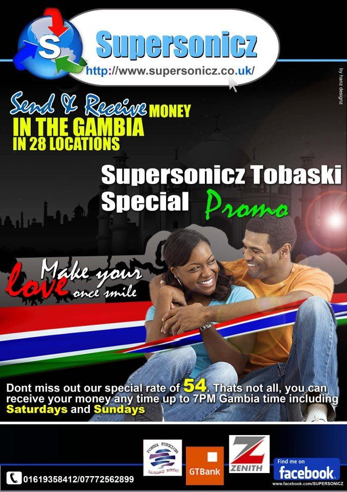 Send Money To Gambia Receive Your Any Day Monday Sunday Including 1 Public Holidays 2 Setsetal Days 3 Even Sundays 4 Till