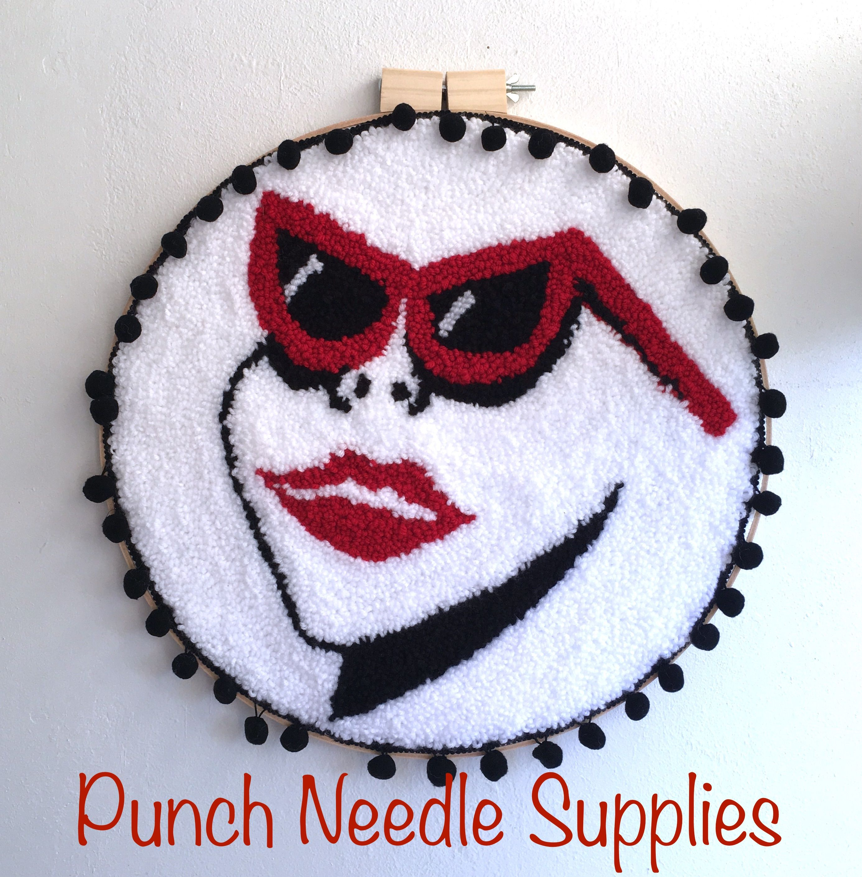 Punch Needle Supplies Rug Backing Fabric Yarn And Adjule Needles Learn A New Craft Today See Why Everyone Is Hooked