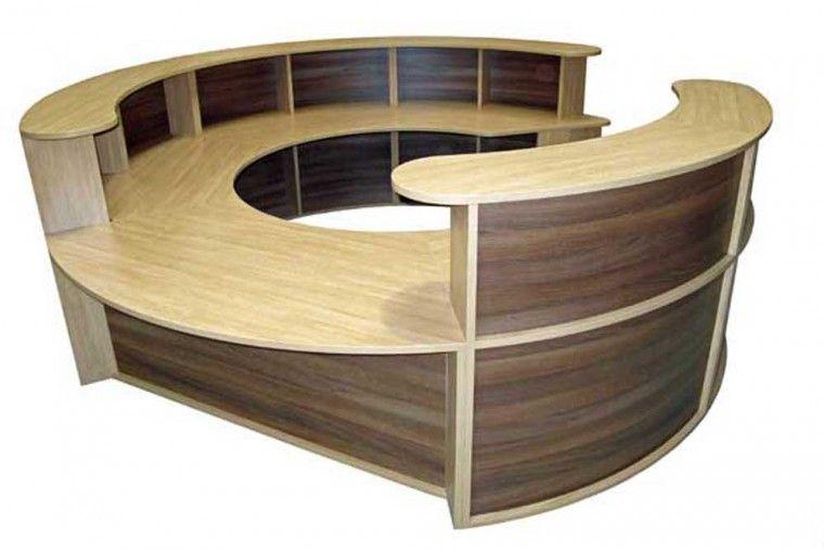 Reception Desks, Round Computer Table