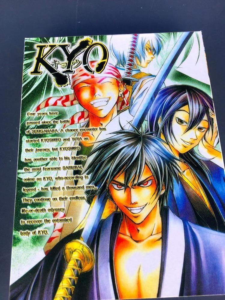 Anime japanese original kyo samurai adventure english