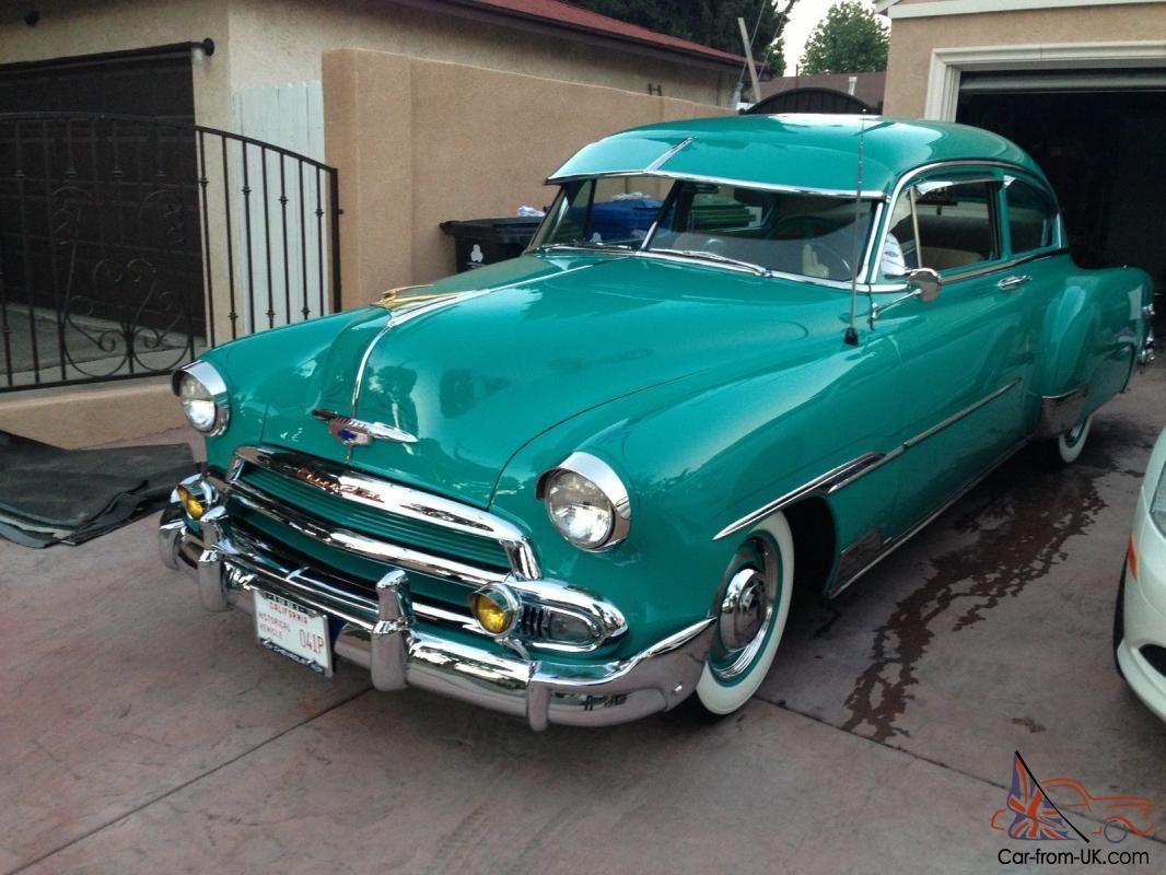 1951 Chevy Fleetline 2 Door Deluxe Show Car Lowrider 49 50 51 52