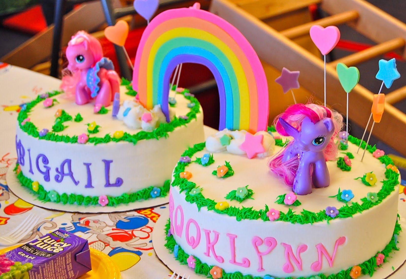 Тортик с картинкой пони