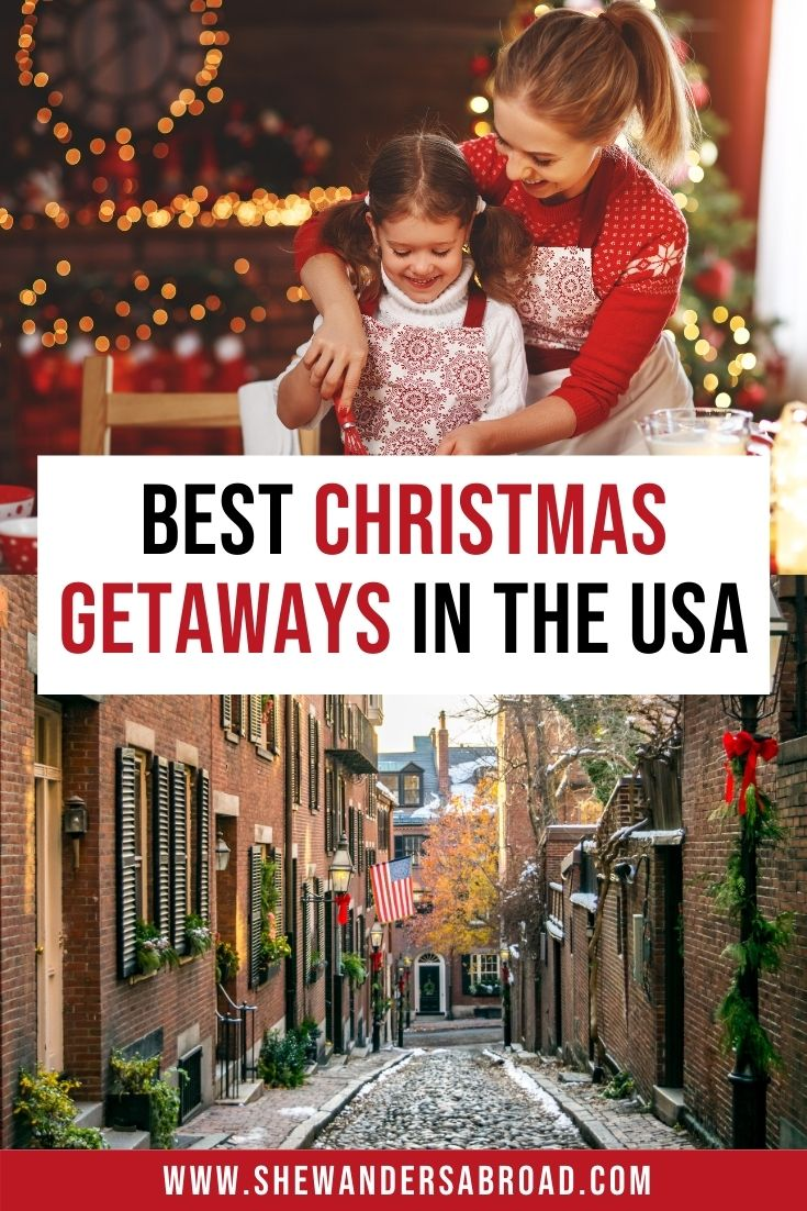 16 Best Christmas Vacations In The Usa In 2020 Best Christmas Vacations Christmas Vacation Destinations Holiday Travel Destinations