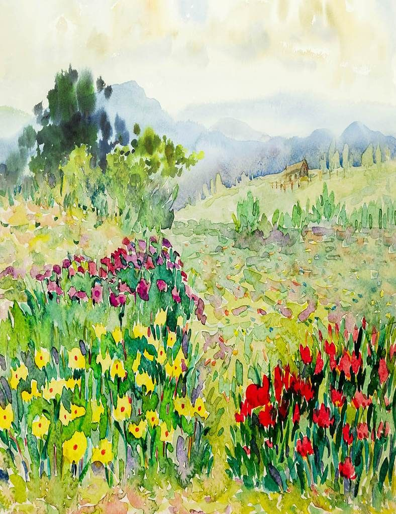 Digital Photography Backgrounds Watercolor Backdrops Fine Art Print Images 1J
