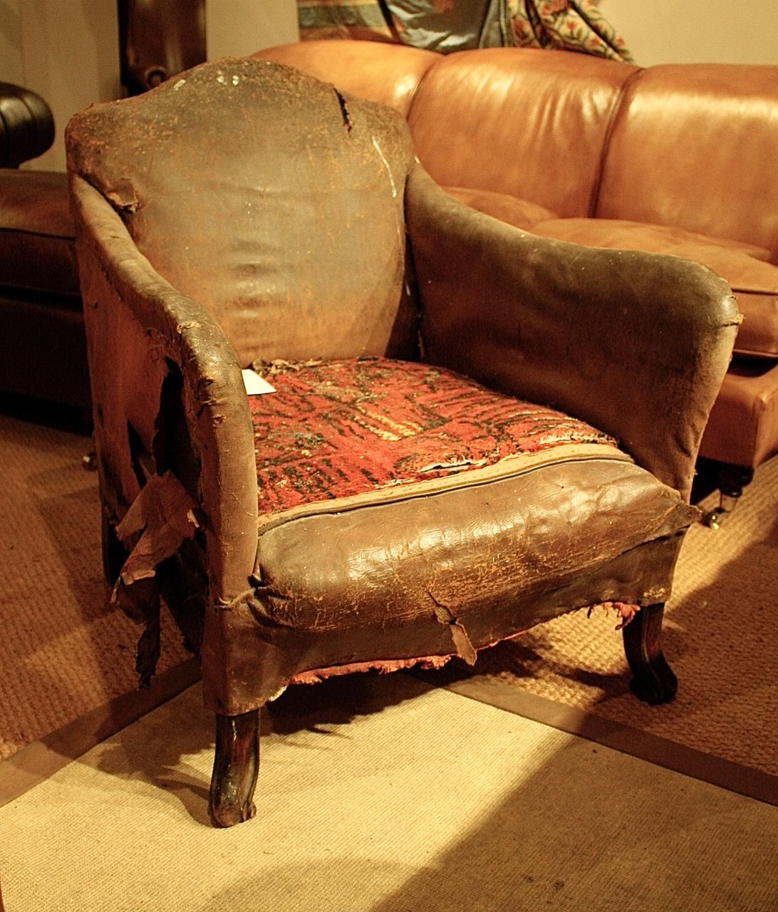 Late 19th Cent Chair - before !