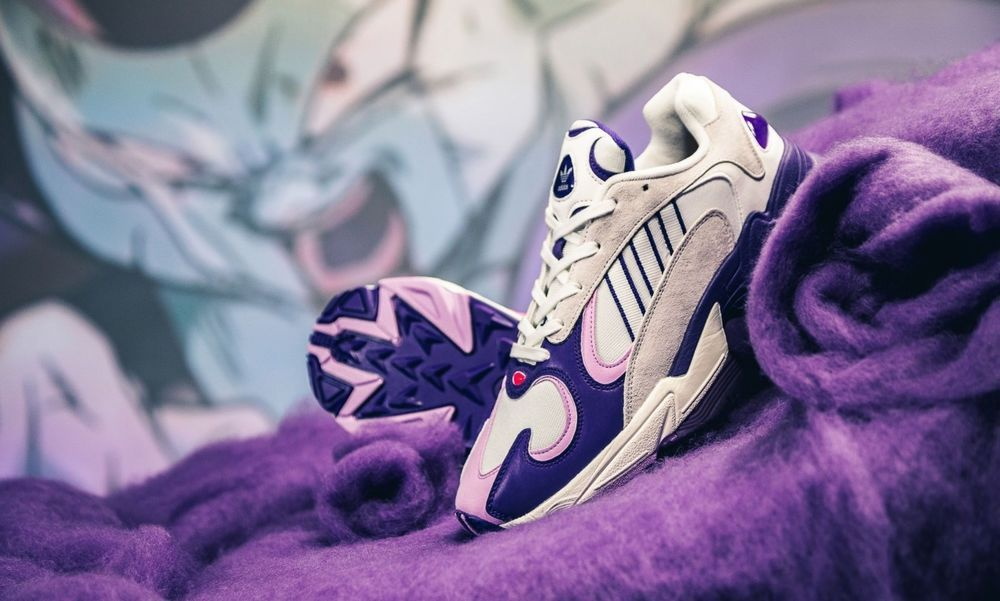 Adidas Yung 1 Dragon Ball Z Frieza Size 9.5 *LIMITED EDITION