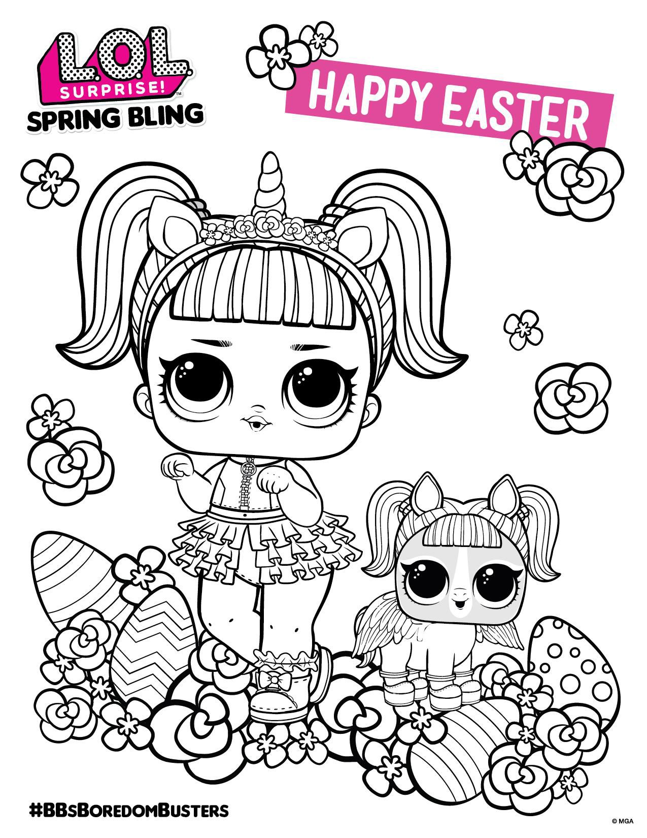 Lol Surprise Coloring Sheet Unicorn Coloring Pages Lol Dolls Coloring Sheets
