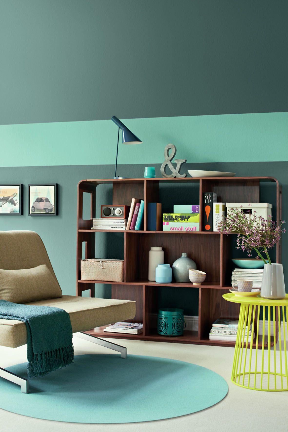 Schoner Wohnen Farbe Jade Con Imagenes Habitaciones Azules Interiores Habitacion