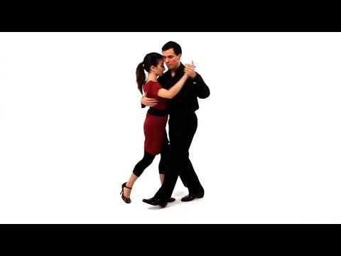 Brazilian - How to Do the Tango 8-Step Basic | Argentine Tango (Bc the Samba is a solo dance)