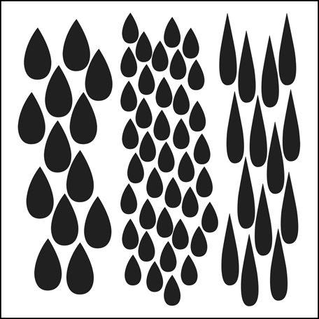 The Crafter's Workshop - 12 x 12 Doodling Templates - Rain at Scrapbook.com $7.49