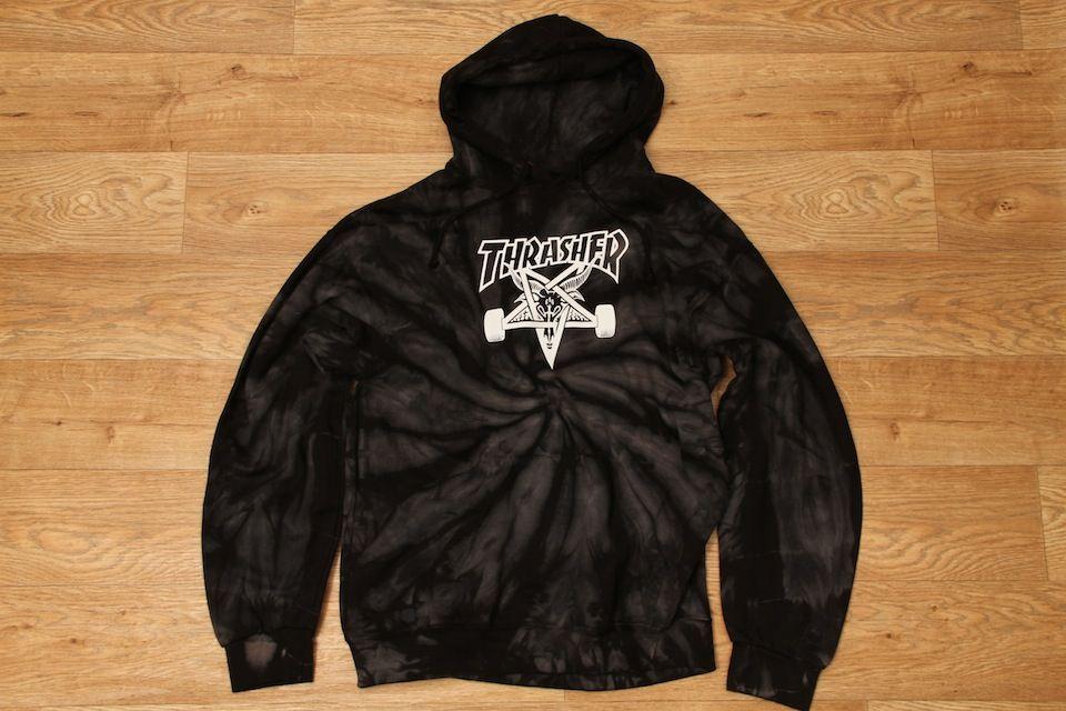 Thrasher Magazine Tie-Dye Skategoat Hoodie Black £74.95 Have this  3 ... ff22b0b8e6ab