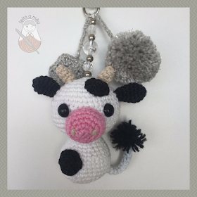 Receita Vaca com Fio Amigurumi - Blog do Bazar Horizonte | 280x280