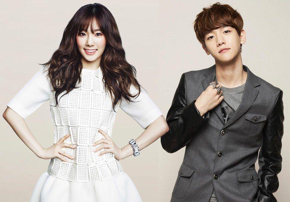 19 Passionate Korean Celebrity Couples Of 2015 Korean Celebrity Couples Baekhyun Korean Celebrities