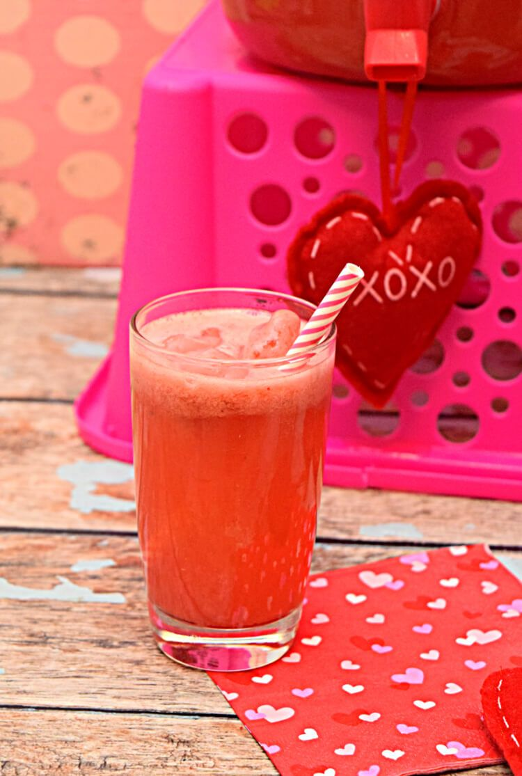 This Sweetheart Pink Punch Is Perfect For Your Galentine S Day Or Valentine S Day Party Pink Punch Valentines Day Party Pink