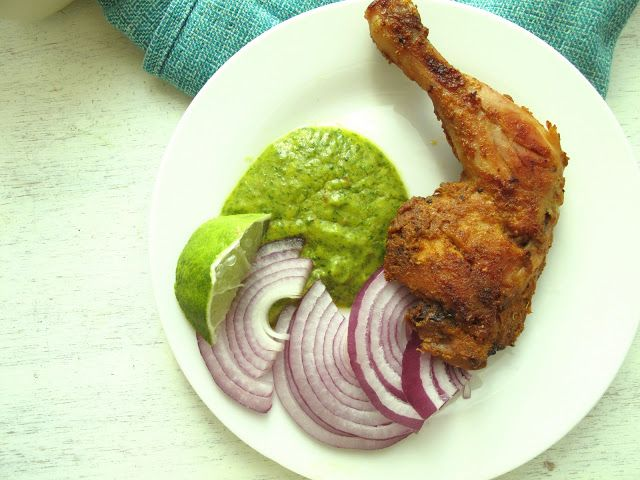 Tandoori Chicken and First Blog Anniversary!