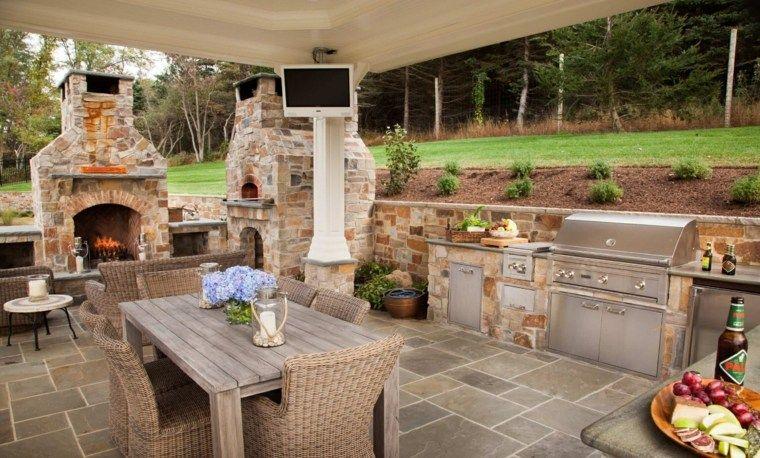 Comedores Y Cocinas Exteriores Ideas Originales Para Su Jardin Nuevo Decoracion Cocina Exterior Sala De Exterior Cocinas Al Aire Libre