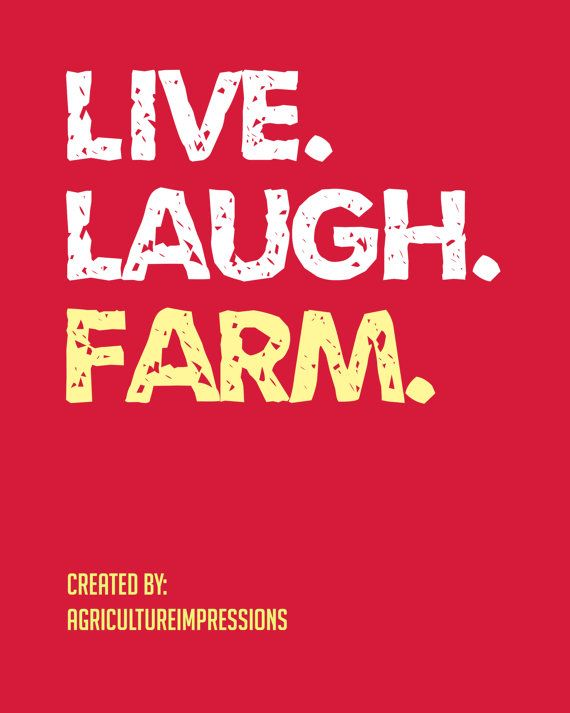 Live Laugh Farm LOVE IT!