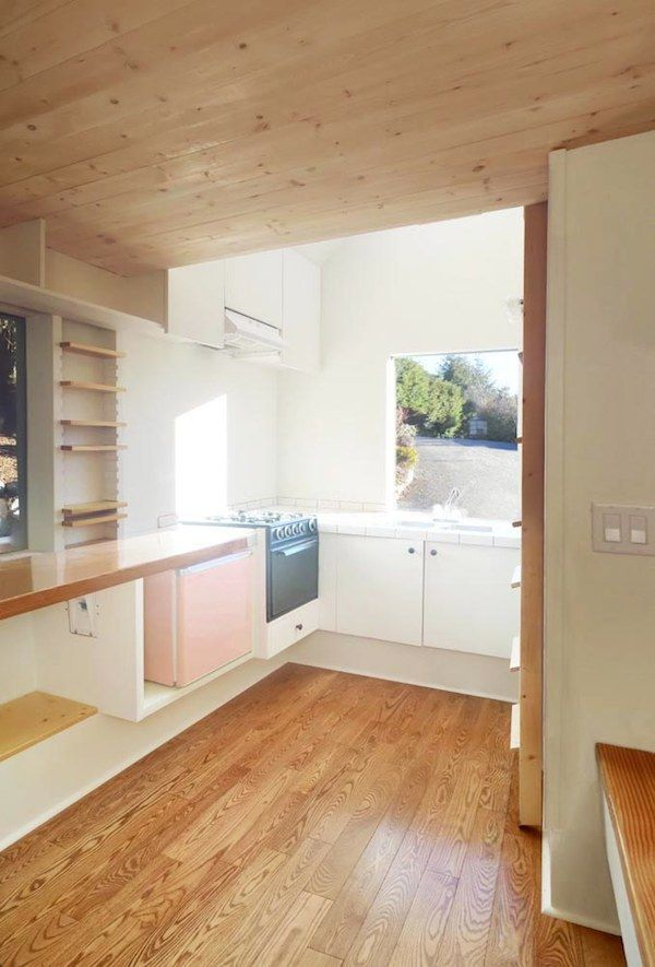 . Amazing 100 Sq  Ft  Tiny House on Wheels Built by Architecture Grads