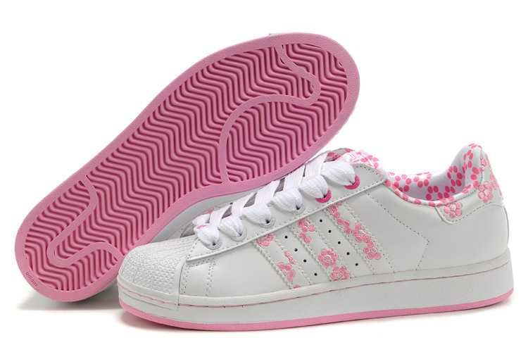 save off 4716b f0210 1767   Adidas Superstar Billigt Dam Rosa Rosa Vit SE695783nWYuleIk