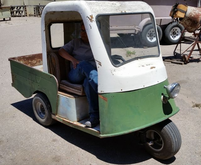 2b05ca45222aa3a3ace2a11991fd1aad rare 1960's marketeer golf cart, for sale vintage three wheels and