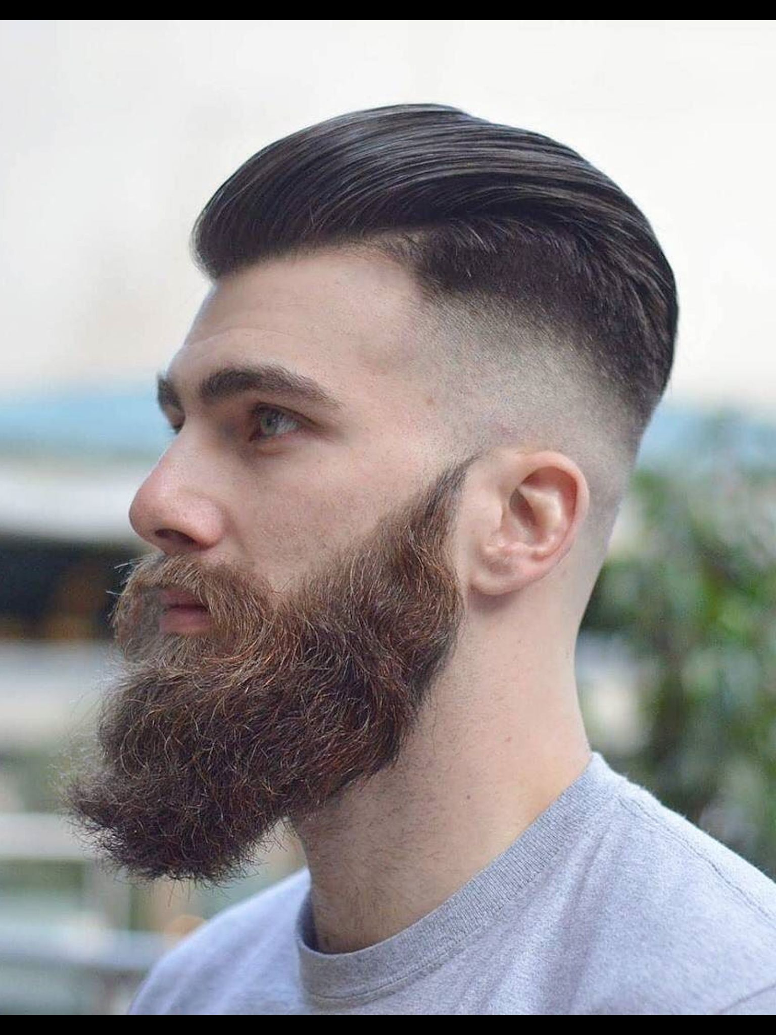 Fashion Mensfashion Menswear Mensstyle Streetstyle Style Outfit Mode Homme Grooming Hair Ducktail Beard Haircuts For Men Beard Styles For Men
