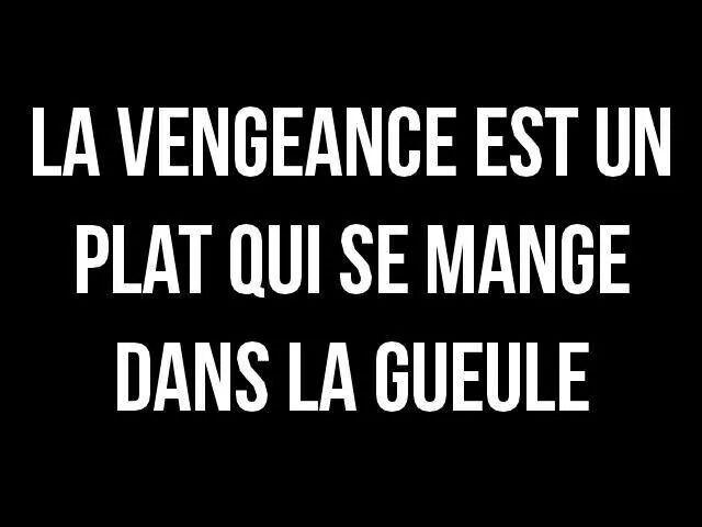 La Vengeance Quotes Citation Citations Amusantes Et