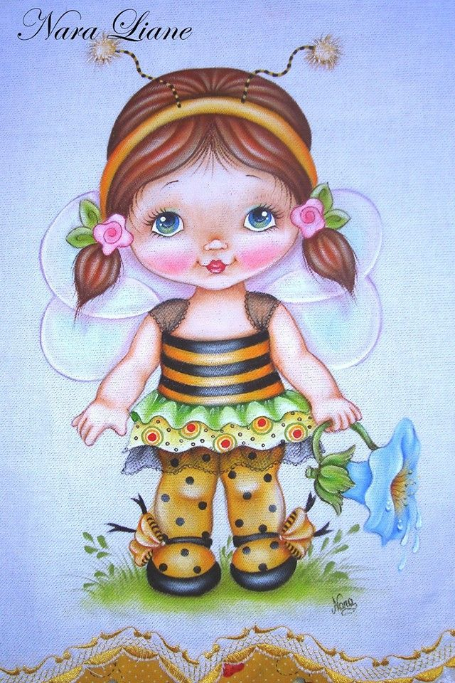 Child Painting Country Art Kid Cute Adorable
