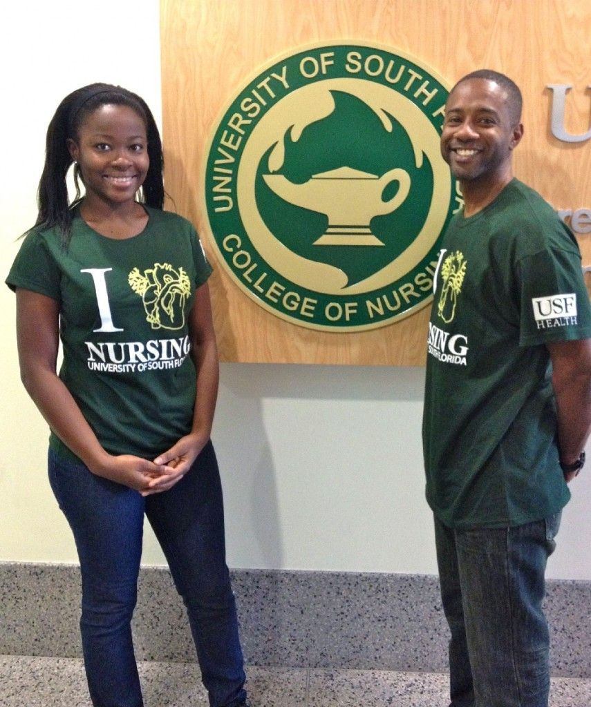 usf nursing student ing scotland during summer global university of south florida college of nursing student council is selling i heart usf