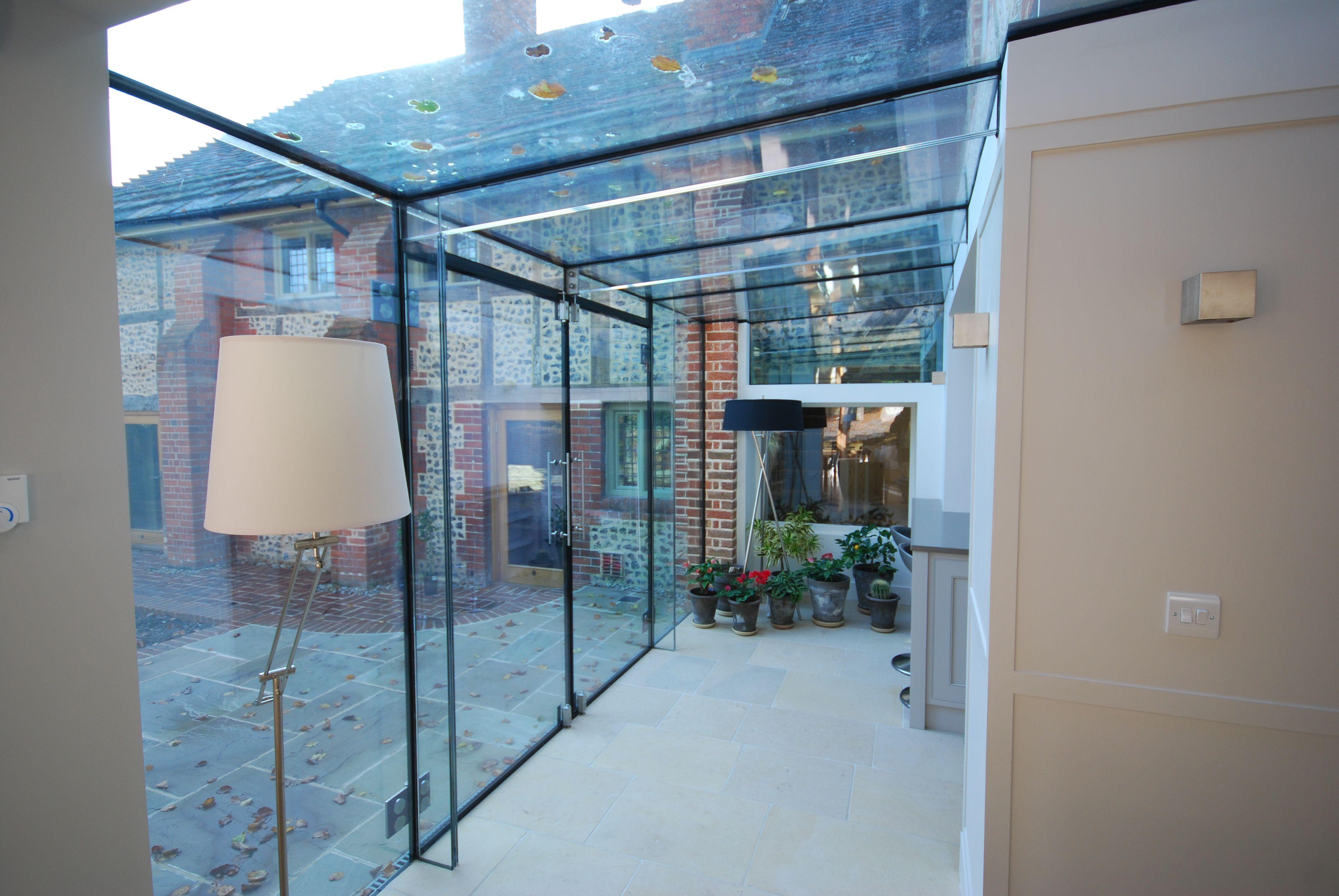 glass extension listed building google search dormer. Black Bedroom Furniture Sets. Home Design Ideas
