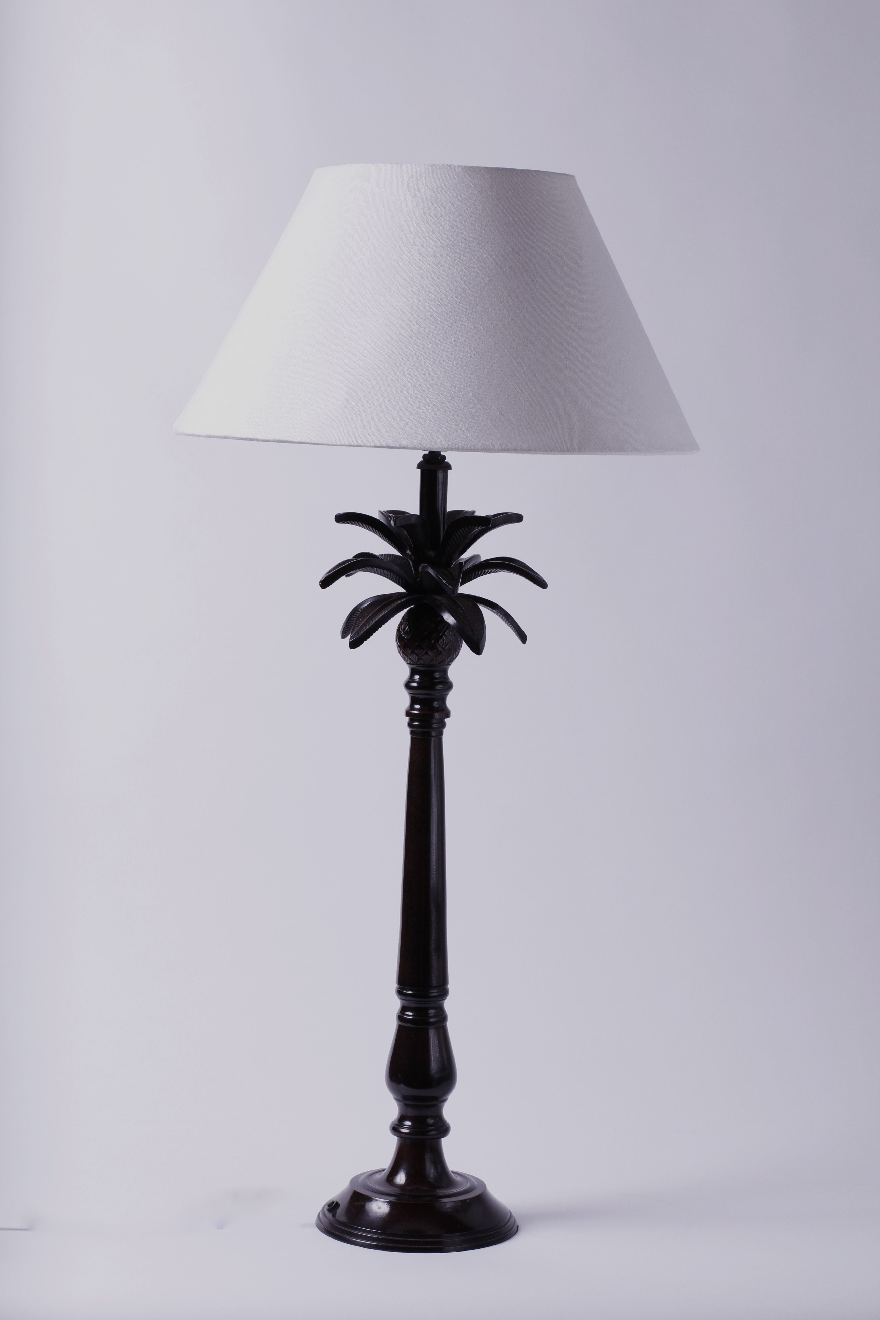Colonial style palm tree table lamp s250 including shade 80cm colonial style palm tree table lamp s250 including shade 80cm tall and perfect for singapore geotapseo Gallery