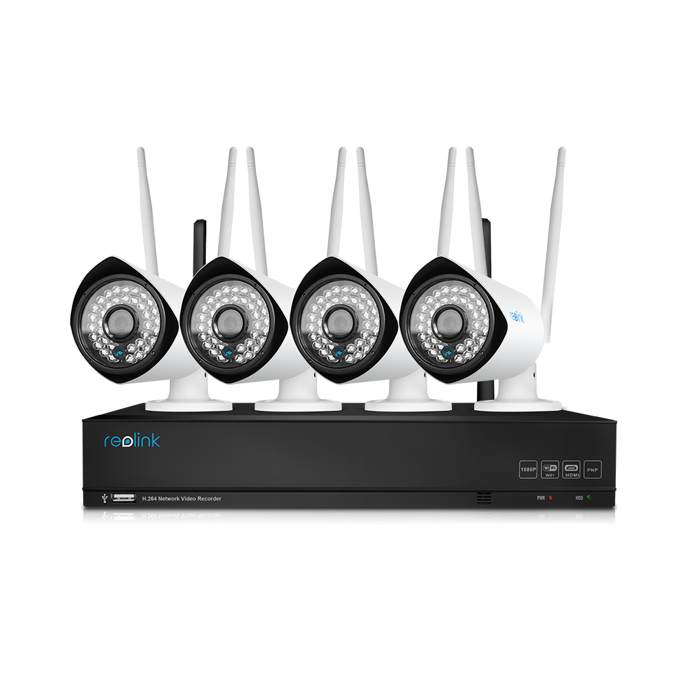 Reolink RLK4-210WB4 Wireless NVR Security System - Reolink Store ...