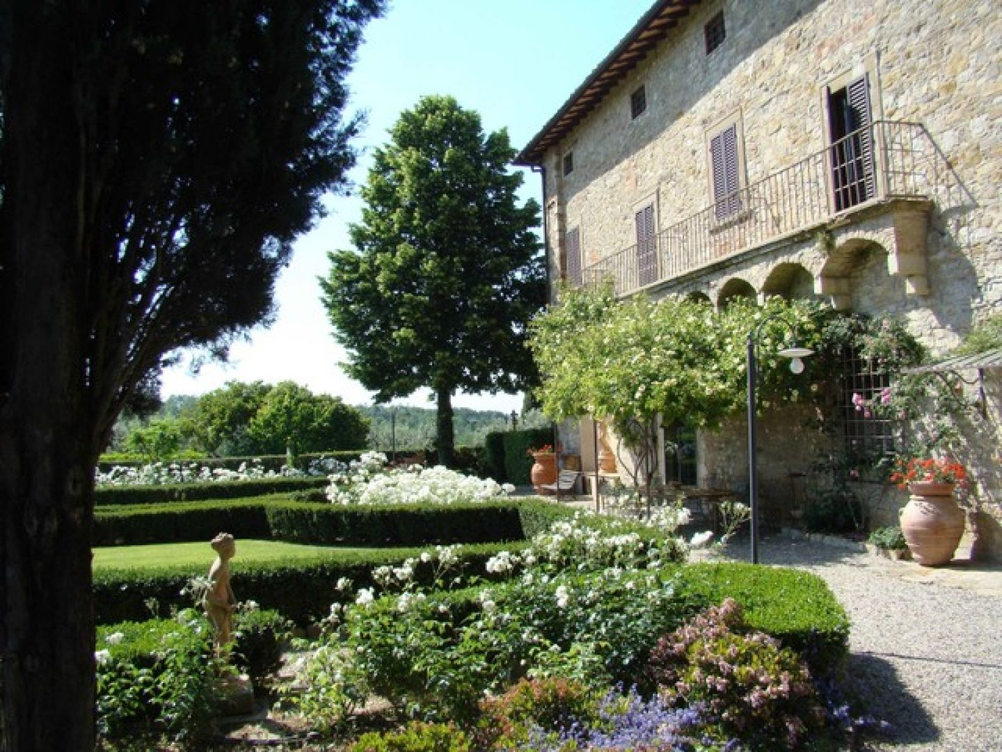 tuscan yard landscape - Google Search
