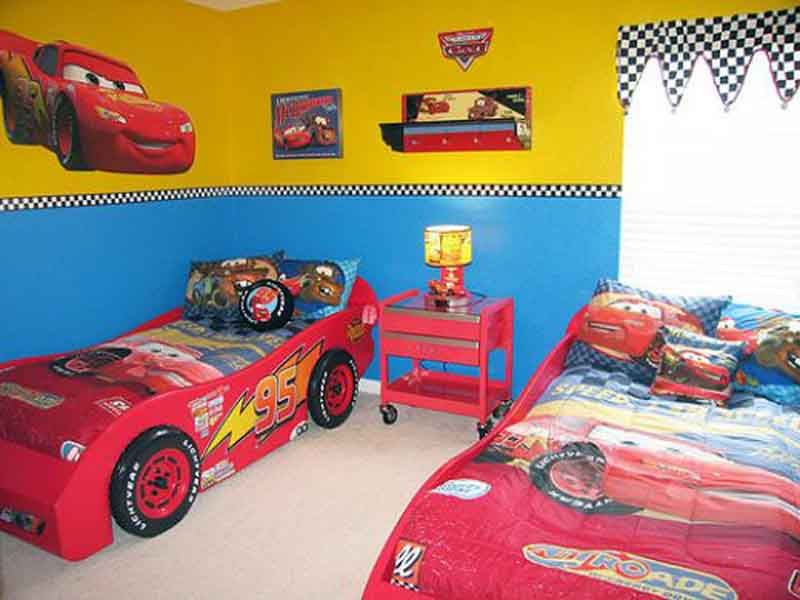 Lightning mcqueen car bed kamer koen pinterest slaapkamer