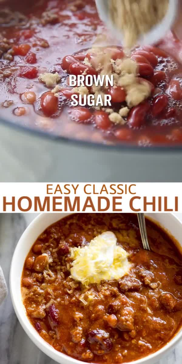 Classic Homemade Chili