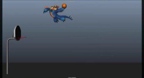 Fred basketball test - ディズニーのアニメーターTrent Correy氏によるバスケットボールアニメーションテストショットブレイクダウン!