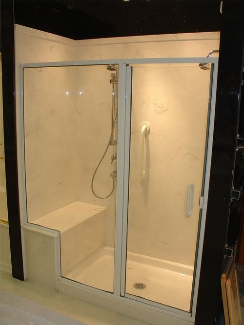Cultured Marble Showers | Cultured Marble Wall Surrounds For Showers    $934.00